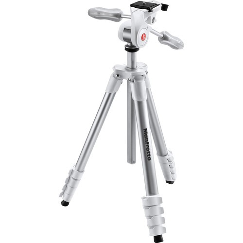Manfrotto COMPACT ADVANCED WITH 3-WAY HEAD White