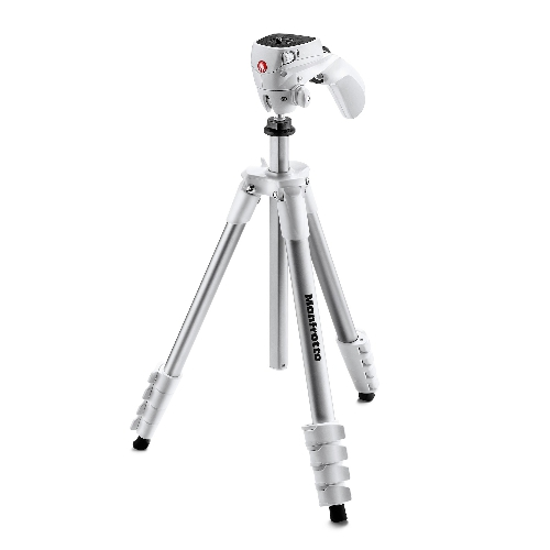 Manfrotto Compact Action Tripod White