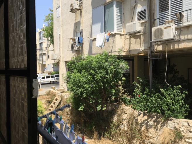 снять квартиру в Израиле - вид из окна