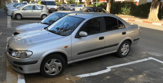 Автомобиль в Израиле - Nissan Almera
