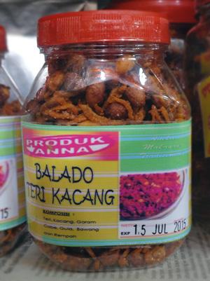 Balado Teri Kacang Cirebon