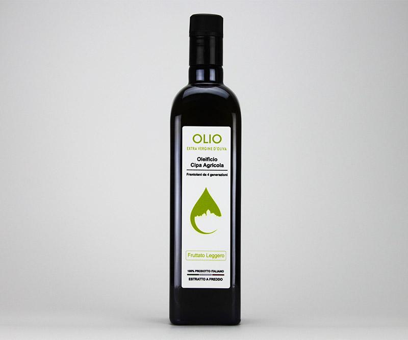 Olio-extravergine-di-oliva-fruttato-leggero-Cipa-Agricola