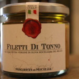 Filetti di tonno- Segreti di Sicilia
