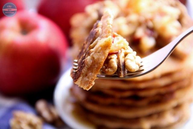 Tortitas de manzanas