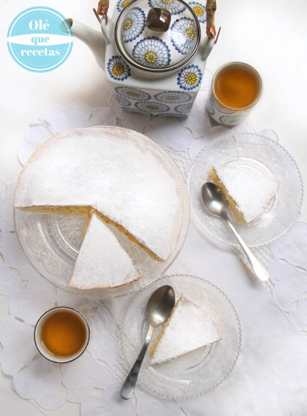Pastel de queso japonés de 3 ingredientes