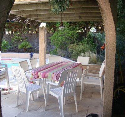 Grande villa ensoleillée avec piscine