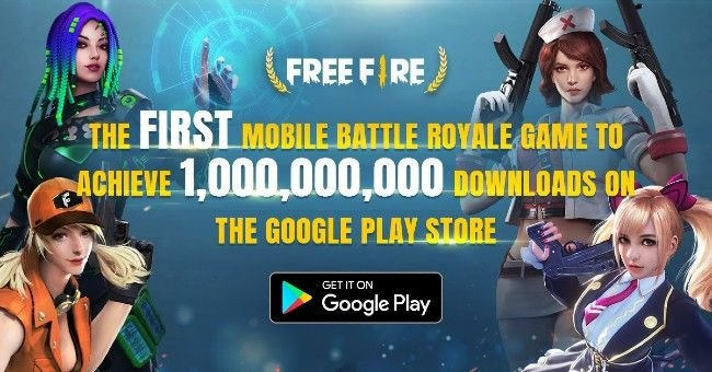 Garena Free Fire Crosses 1 Billion Downloads On The Google Play Store