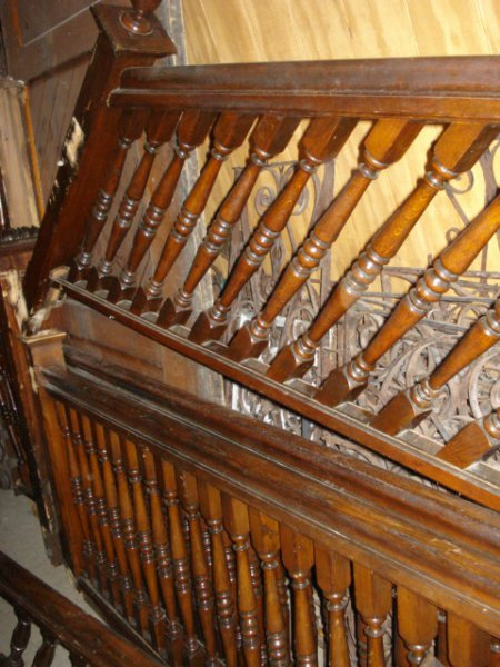 Antique Staircase Posts Pedestals And Railings In Pa