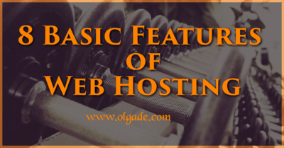 8 Basic Features of Web Hosting