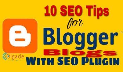 Blogspot SEO Tutorial