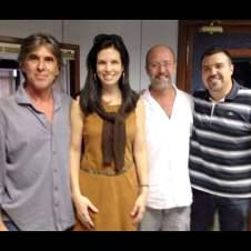 Com Guilherme Reis, Murilo Grossi e Estevão Damazio
