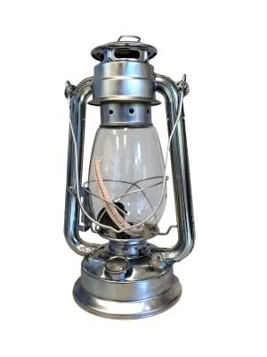 19660 stormlamp 31 cm verzinkt