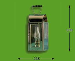 K.P.M. lantaarn elektrisch 17