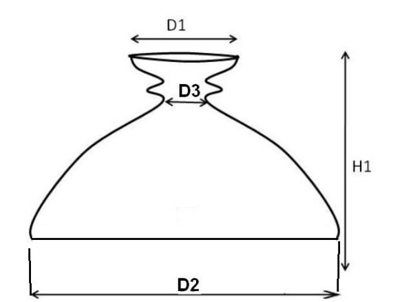 kap rochester opaal 330 mm 17