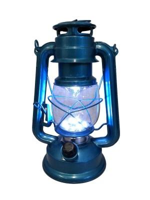 19200B stormlamp 25cm lichtblauw LED warm wit