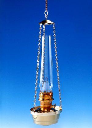 84104 Aladdin hanglamp messing met ketting