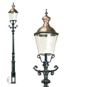 Tuinlamp Den Haag, groen/koper-0
