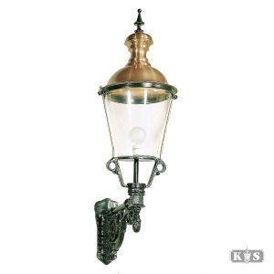 Buitenlamp Amsterdam XL, groen/koper-0