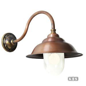 Buitenlamp Savoye l recht, brons/koper-0