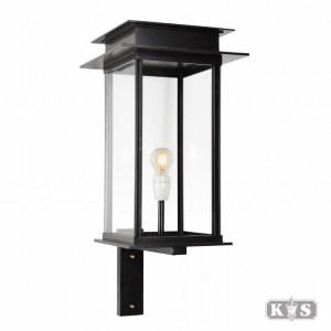 Muurlamp Praag L II, zwart