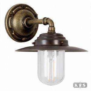 Muurlamp Dijon, brons/koper-0