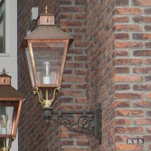 Buitenlamp Wolfsburg, brons/koper