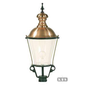 Buitenlamp K2A, groen/koper-0