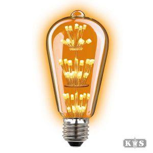 Lichtbron Rustic Led 1,3W, helder-0