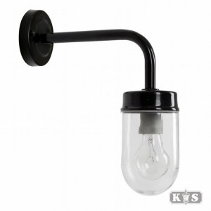 Wandlamp Genius, zwart-0