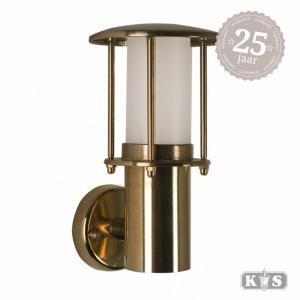 Muurlamp Resident brons, brons