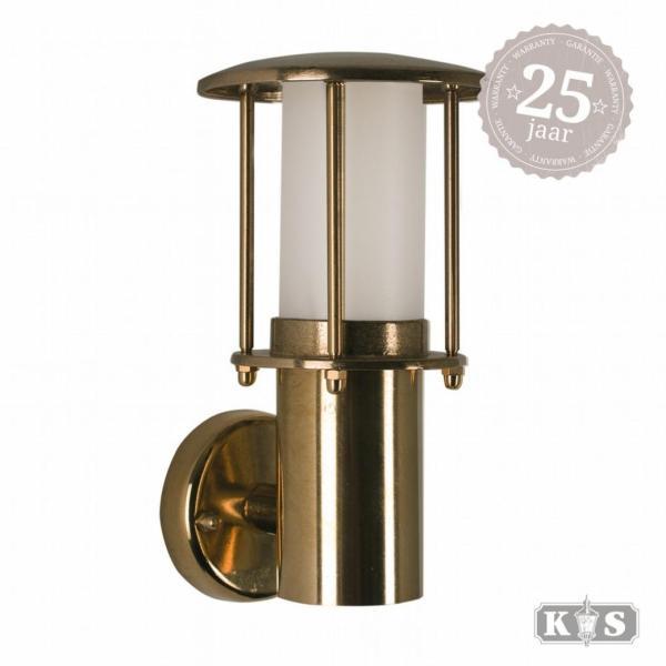 Muurlamp Resident brons, brons 15