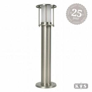 Tuinlamp Resident 2 nikkel, nikkel