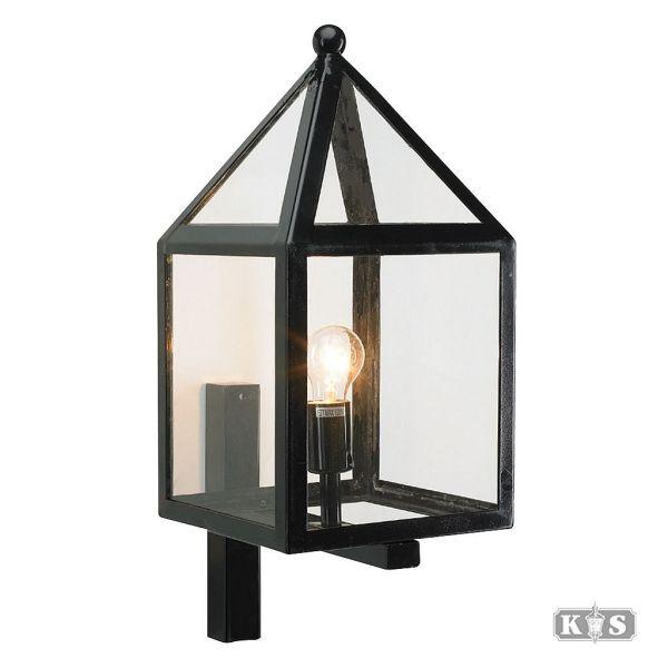 Wandlamp Leusden, zwart-0