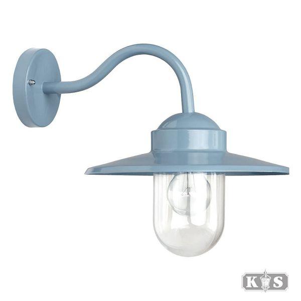 Buitenlamp Dolce Retro Blauw, melkblauw-0