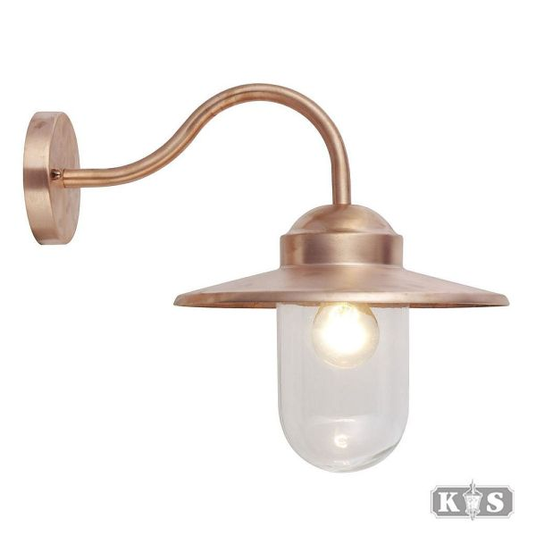 Buitenlamp Dolce Koper, koper-0