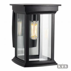 Carlton wandlamp, zwart-0