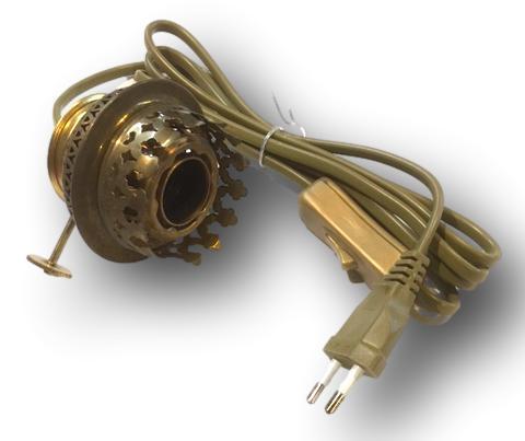 Brander imitatie 14 ligne met lamphouder E14 onder-invoer 15