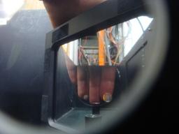 Seethrough hand device.