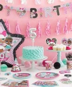 8 cartes d invitation l o l surprise pour anniversaire