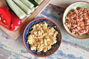 Spicy feta spread