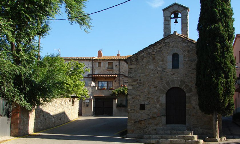 Kirchlein in Capmany bei Figueres