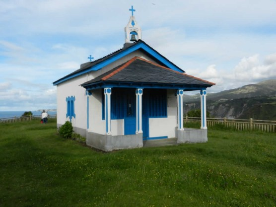 Kapelle Aussichtspunkt Ausflug Asturien