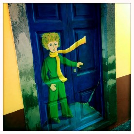 Gemälde Kleiner Prinz Streetart Funchal