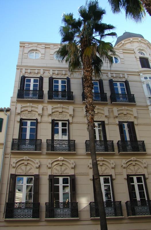 Herrschaftliche Häuser und Paläste in der Altstadt von Málaga