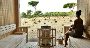 Sauna mit Aussicht: Das gibts im Hotel The Oitavos