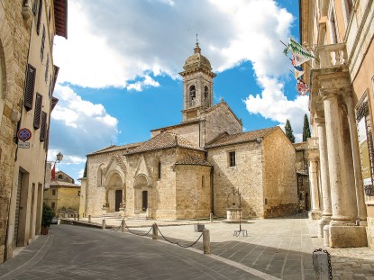San Quirico Frankenstraße Toskana Rundreise Italien