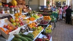 Obst auf dem Markt in Funchal