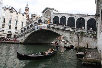 Venedig Urlaub Rialtobrücke