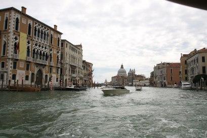 Venedig Vaporettoausblick