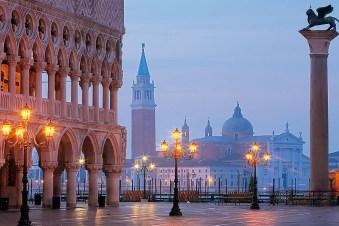 Abendstimmung Venedig Urlaub